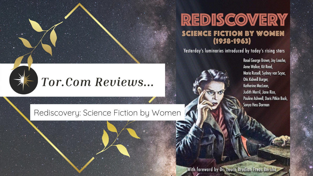 Tor.com Reviews REDISCOVERY: SCIENCE FICTION BY WOMEN